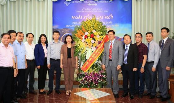 Phó Bí thư Thường trực Thành ủy Hà Nộichúc mừng Hội thánh Tin lành Việt Nam (miền Bắc)