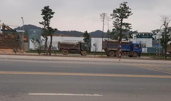 Dự án Apec Diamond Park Lạng Sơn đổ thải trái phép