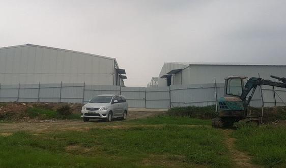 Hoài Đức (Hà Nội): Biến đất dự án thành nhà xưởng cho thuê