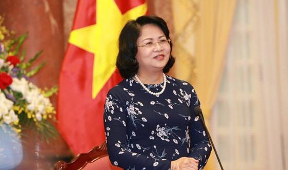 Quốc hội miễn nhiệm Phó chủ tịch nước đối với bà Đặng Thị Ngọc Thịnh
