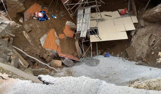Sụt lún đất ở xã Quảng Bị, huyện Chương Mỹ: Do khai thác nước ngầm quá mức?