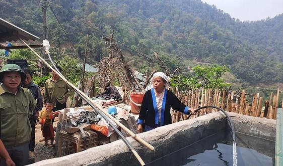Niềm vui nước sinh hoạt về vùng cao Phong Thổ
