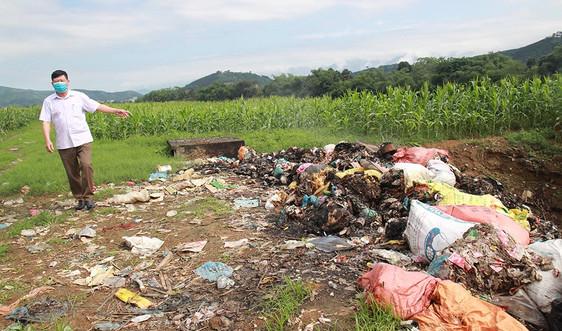 Bãi chôn lấp rác thải quy mô cấp xã: Nguy cơ trở thành cơ sở gây ô nhiễm nghiêm trọng