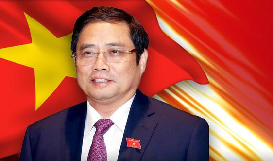 Thủ tướng Phạm Minh Chính và 27 thành viên Chính phủ
