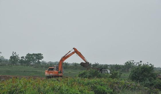 Nga Sơn (Thanh Hóa): Cần chấn chỉnh việc lợi dụng cải tạo đồng ruộng mang đất đi bán