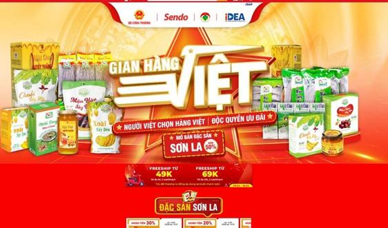 """""""Ngày đặc sản Sơn La"""" trên gian hàng Việt trực tuyến từ ngày 12-14/4"""