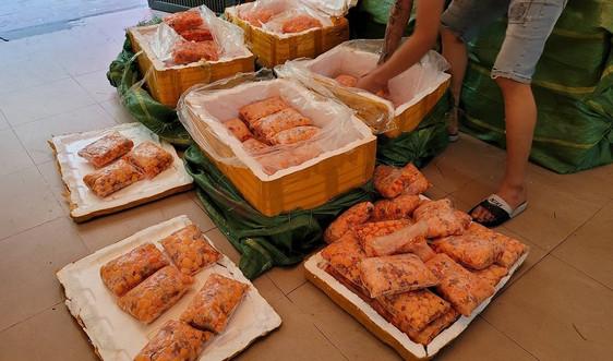 Quản lý thị trường Hà Nội phát hiện 600kg tràng trứng gà non không rõ nguồn gốc