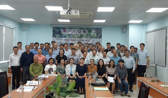 Hội thảo Ứng dụng công nghệ viễn thám, GIS kết hợp với dữ liệu sinh khí hậu trong nghiên cứu và quy hoạch bảo tồn đa dạng sinh học