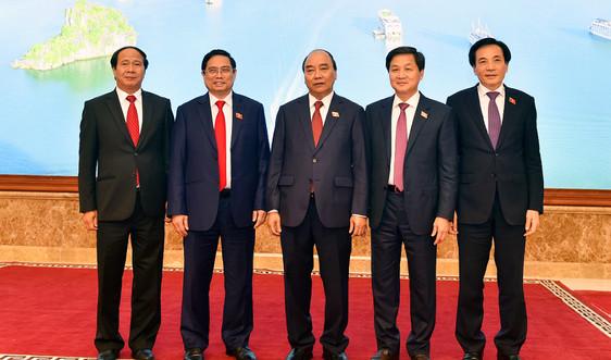 Giới thiệu chữ ký của Thủ tướng, 2 Phó Thủ tướng và Bộ trưởng - Chủ nhiệm Văn phòng Chính phủ