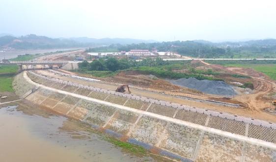 Dự án Đê chống ngập sông Hồng đáp ứng yêu cầu vượt lũ tiểu mãn