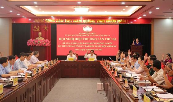 Sơn La: Lập danh sách 10 người ứng cử đại biểu Quốc hội khóa XV