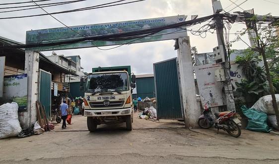 """Khương Đình – Thanh Xuân: Điểm trung chuyển rác """"bức tử"""" môi trường"""