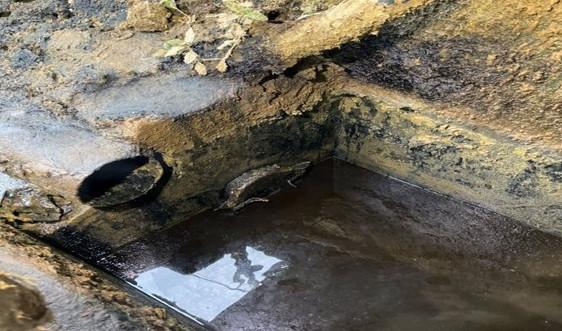 Thanh Hóa: Đình chỉ cơ sở sản xuất bột giấy, vàng mã xả thải ra sông Mã
