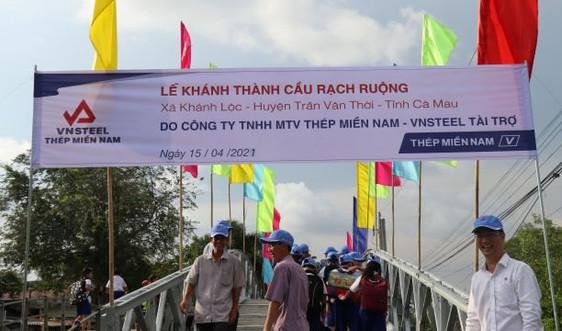 Khánh thành cầu Rạch Ruộng tại xã Khánh Lộc  (Cà Mau)