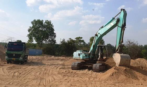 Sở TN&MT Kon Tum đề nghị UBND TP. Kon Tum tăng cường quản lý đất san lấp và cát, sỏi