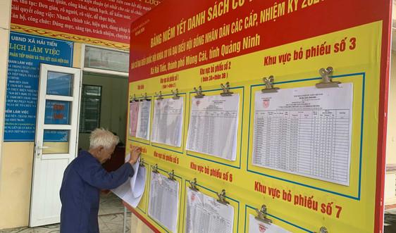 Quảng Ninh tổ chức hội nghị sơ kết bước 2 công tác bầu cử