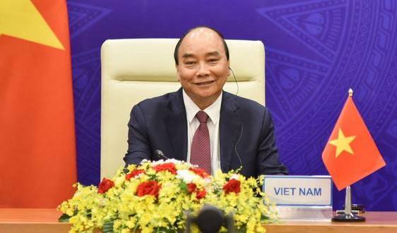 Chủ tịch nước Nguyễn Xuân Phúc dự hội nghị thượng đỉnh về khí hậu