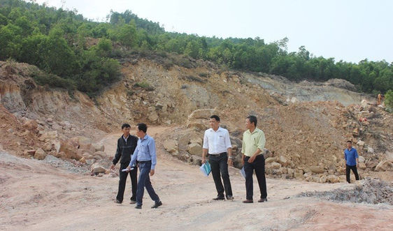 Quảng Nam: Lập đoàn kiểm tra việc chấp hành pháp luật của các DN khai thác khoáng sản