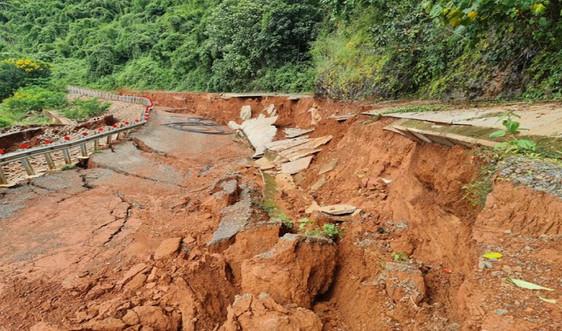Đắk Nông: Kết luận về sự cố sạt lở nghiêm trọng đường vào khu du lịch thác Liêng Nung