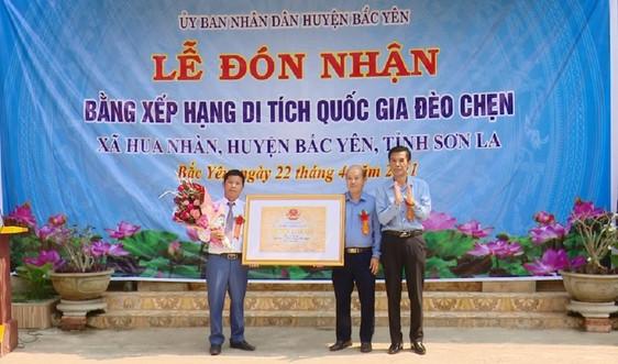 Sơn La đón nhận Bằng xếp hạng Di tích Quốc gia đèo Chẹn