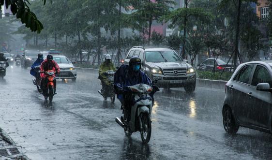 Thời tiết ngày 26/4, Bắc Bộ và Bắc Trung Bộ có mưa, cảnh báo dông, lốc