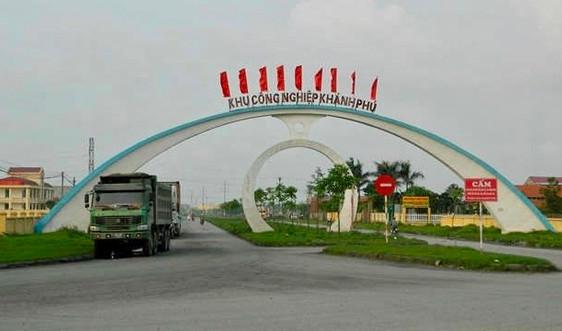 Ninh Bình: Triển khai biện pháp đảm bảo vệ sinh môi trường tại KCN Khánh Phú