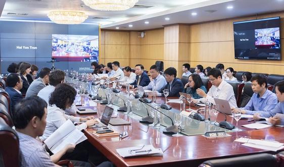 Bộ trưởng Trần Hồng Hà làm việc với Ngân hàng Thế giới về xây dựng cơ sở dữ liệu đất đai