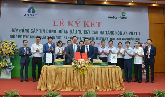 Vietcombank Hải Dương ký kết hợp đồng cấp tín dụng 1.200 tỷ đồng Công ty An Phát 1