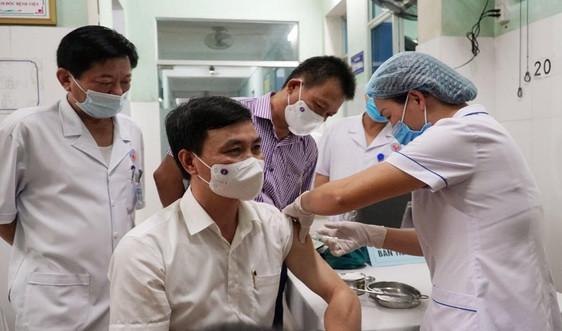 Quảng Bình: Triển khai tiêm vắc xin phòng ngừa Covid-19 đợt 1