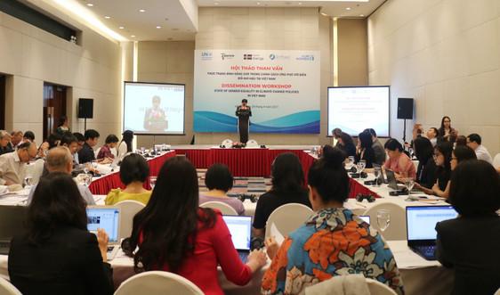 Bình đẳng giới trong chính sách ứng phó với BĐKH tại Việt Nam