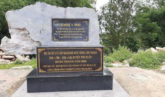 Thanh Hóa: Lập phương án bảo vệ tuyến đê tả sông Chu