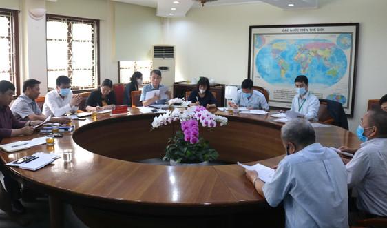 Lãnh đạo Bộ TN&MT tiếp công dân định kỳ tháng 4/2021