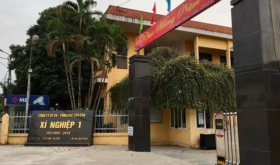 Long Biên: Xí nghiệp 26.1 gây tiếng ồn trong khu dân cư