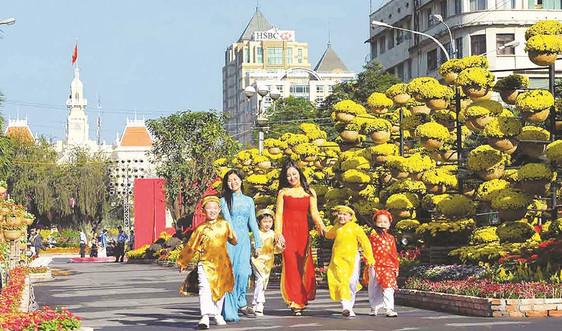 Mùa Xuân trên Thành phố Hồ Chí Minh!