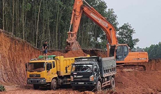 """Phú Bình (Thái Nguyên): Xe """"ma"""" phá nát nhiều tuyến đường"""