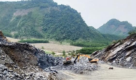 Thừa Thiên Huế: Mỏ đá của Tập đoàn Trường Thịnh hết hạn vẫn khai thác trái phép