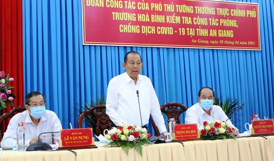 Địa phương phòng dịch hiệu quả nêu hàng loạt kiến nghị với Phó Thủ tướng