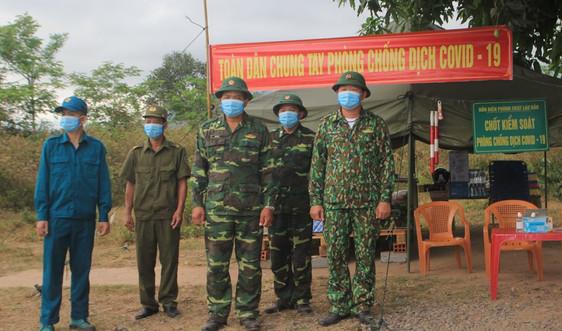 Quảng Trị: Chi viện các chốt kiểm dịch trên tuyến biên giới Việt - Lào