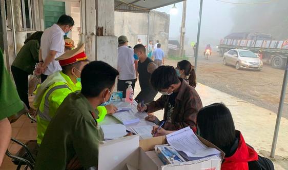 Sơn La: Dừng hoạt động một số cơ sở kinh doanh dịch vụ từ 18h ngày 3/5