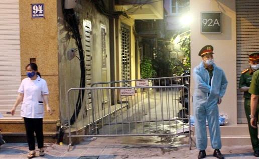 Hà Nội: Thông tin mới nhất về các trường hợp liên quan bệnh nhân Covid-19 tại ngõ 94 phố Bùi Thị Xuân