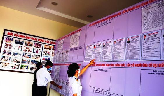 Nêu cao cảnhgiác trong cuộc bầu cử Quốc hội khóa XV và HĐND các cấp