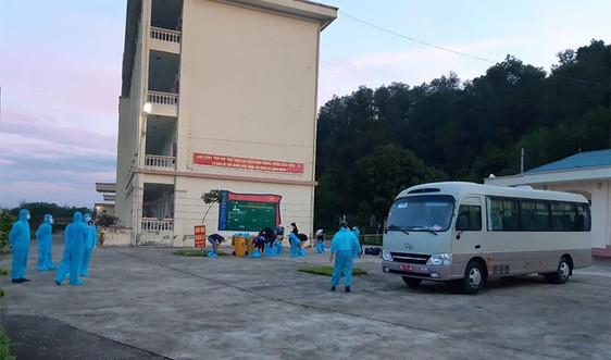 Nam Định: 31 trường hợp F1 có liên quan đến ca bệnh ở Nghĩa Hưng có kết quả xét nghiệm âm tính lần 1