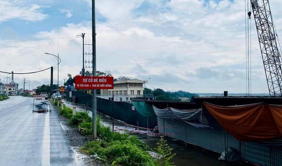 Hà Nội: Ai chịu trách nhiệm khi đường đê hữu Hồng gãy nứt?