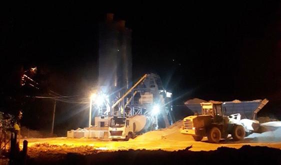 Vụ Trạm trộn bê tông tươi xây dựng trái phép tại TP Cao Bằng: Chủ tịch tỉnh chỉ đạo xử lý dứt điểm