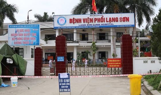 Lạng Sơn: Gỡ phong tỏa Bệnh viện Phổi, tiếp nhận bệnh nhân vào khám và điều trị