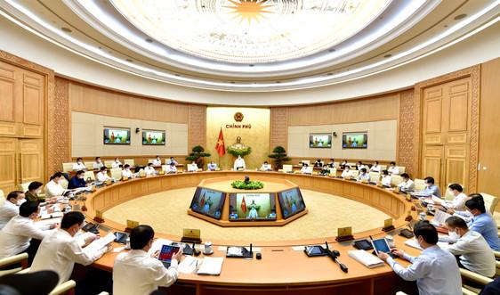 Nghị quyết phiên họp Chính phủ thường kỳ tháng 4/2021