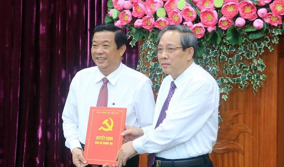 Bộ Chính trị chuẩn y Bí thư Tỉnh ủy Vĩnh Long
