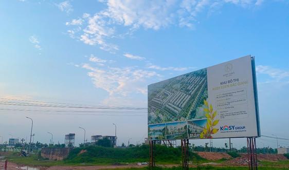 Bắc Giang: Sở Xây dựng đề xuất xử phạt chủ đầu tư dự án khu đô thị mới Kosy Bắc Giang 250 triệu đồng