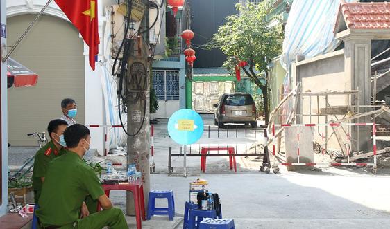 Hà Nam: Tạm phong tỏa 1 cụm dân cư tại TP. Phủ Lý vì có người dương tính Covid-19