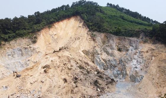 Hà Tĩnh: Xử phạt chủ mỏ đá Hùng Bình 60 triệu đồng do khai thác không đúng thiết kế